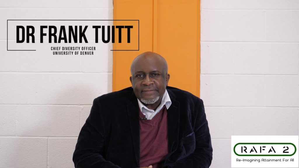 Dr Franklin Tuitt Inclusion Tips