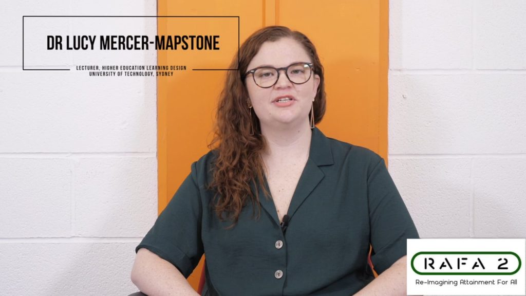 Doing Inclusivity: Dr Lucy Mercer-Mapstone