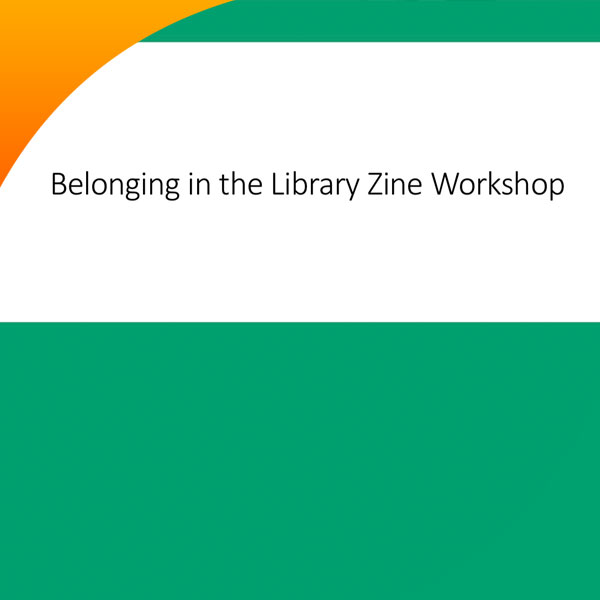 Belonging in the Library RAFA2 report