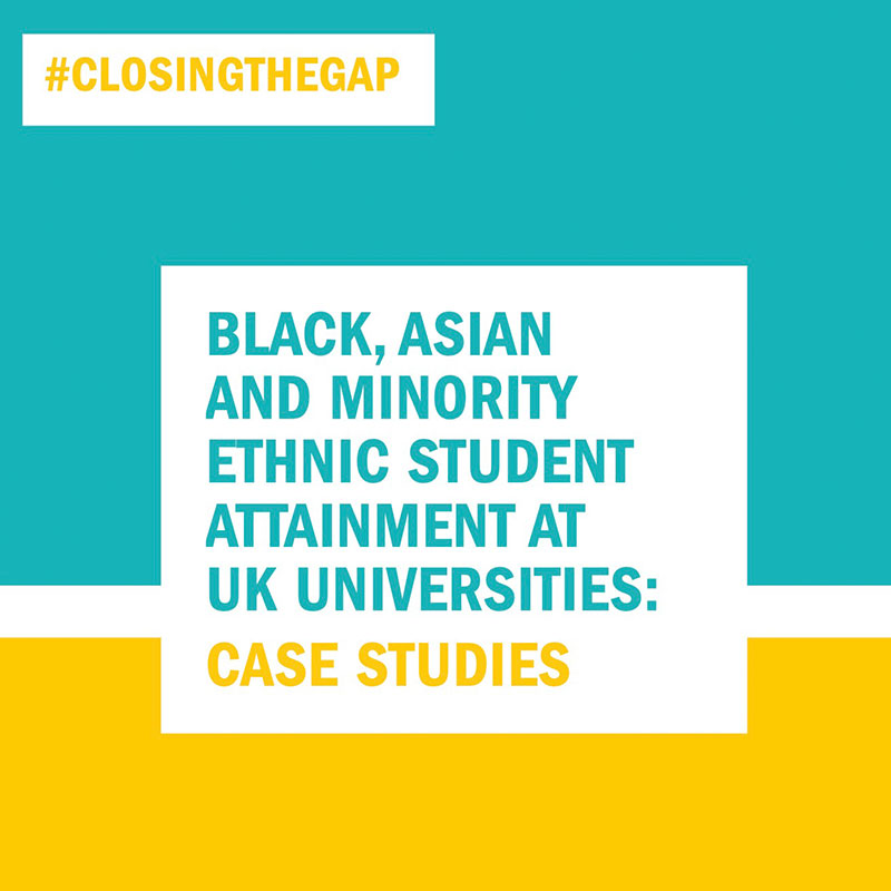 BAME Student Attainment UK Universities Case Studies